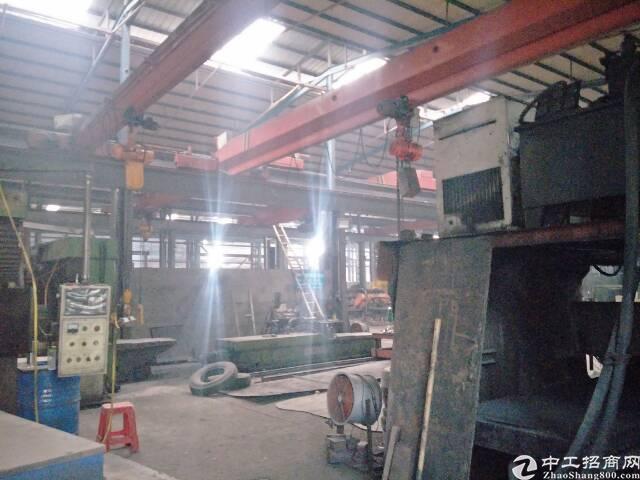 原房东8米带20吨10吨行车钢构3000平招租
