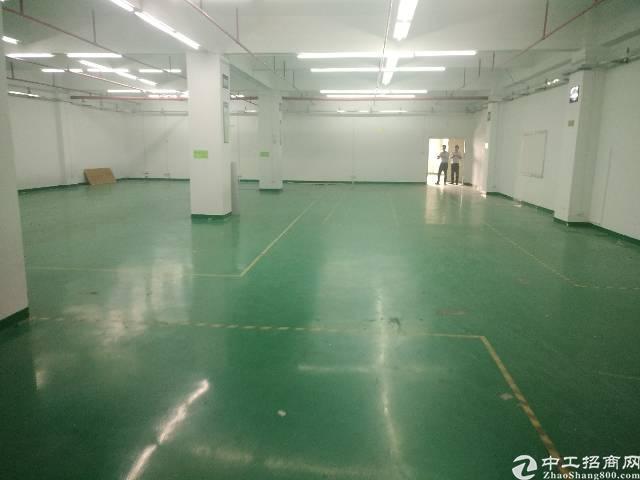 沙井后亭地铁口附近新出五楼厂房800平方带装修