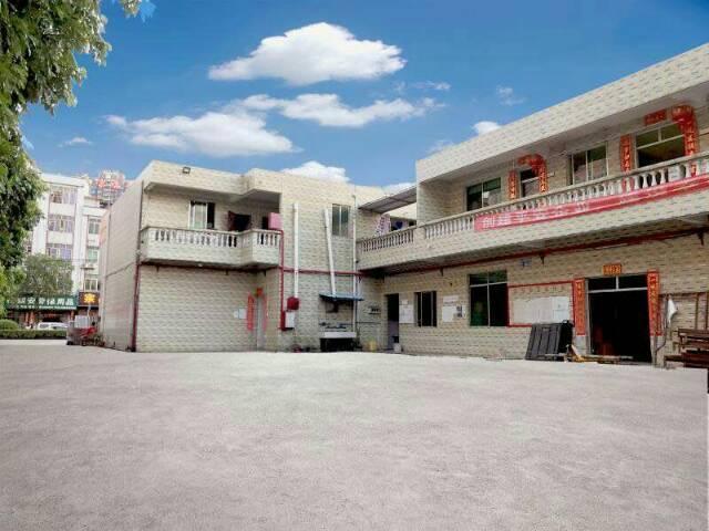 新塘永和单一层铁皮房4600平方办公宿舍配套证件齐全