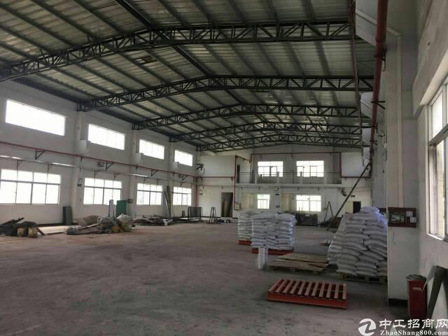 大岭山镇颜屋村新出单一层独栋厂房3200平米招租可分租