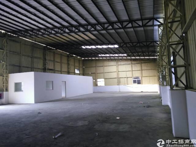 清溪镇三中近凤岗新出钢构厂房800平方招租