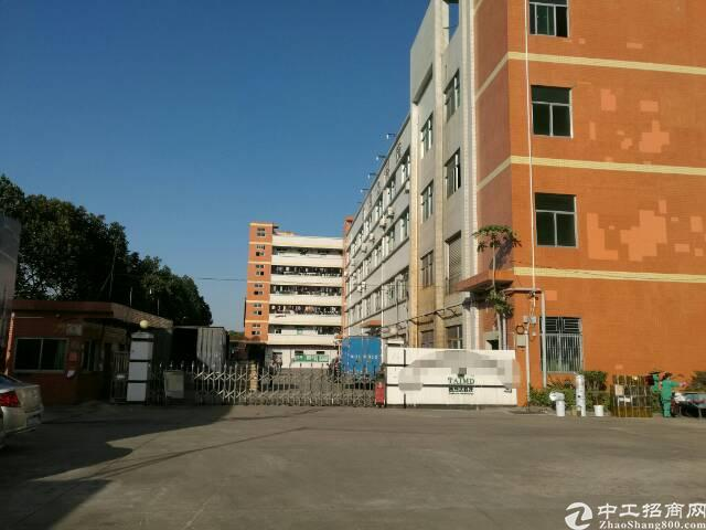 龙岗中心城8100平高新产业园独院厂房出租