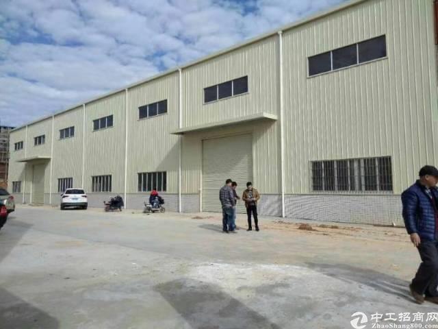 原房东单一层钢构厂房出租