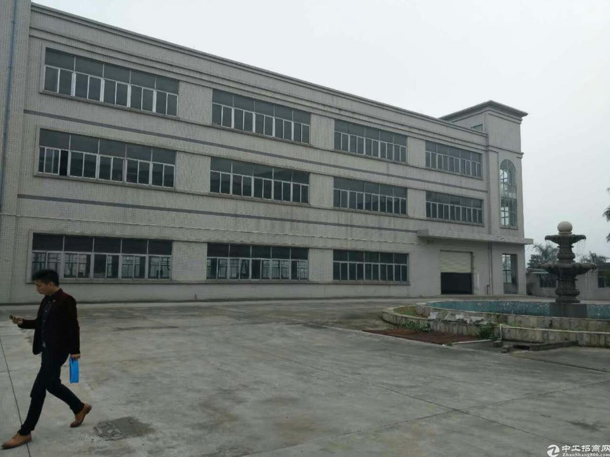 大岭山杨屋村原房东厂房出租标准厂房