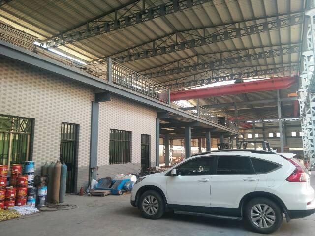 虎门12米高钢构厂房,14000平方,宿舍加办公室2000