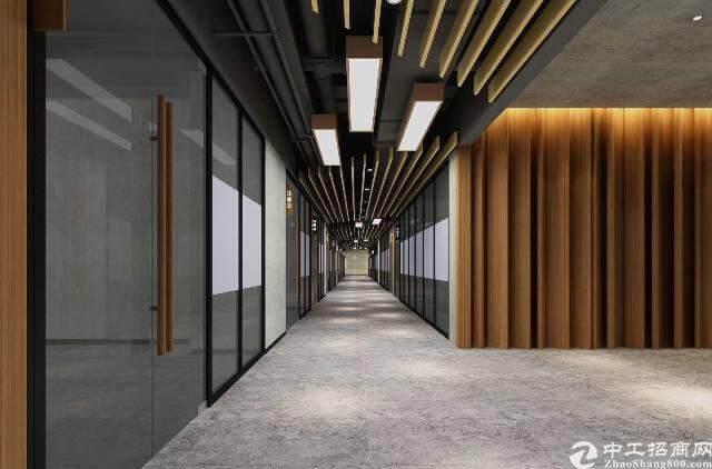 西乡碧海湾双地铁口百佳润写字楼55-350平米出租图片2