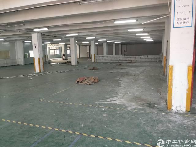 清湖地铁站附近,3500平,大小可分厂房招租