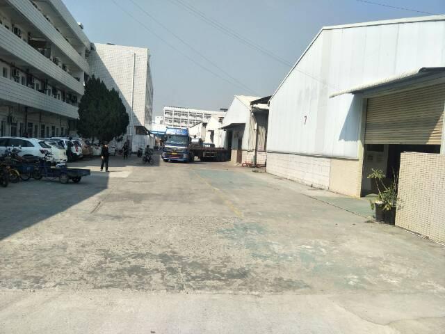 清溪镇中心区独栋钢构厂房2700平方招租