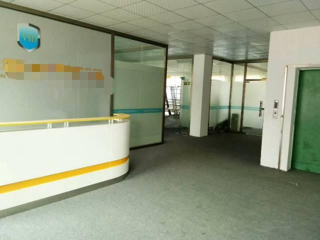 龙岗南联地铁口500平精装修厂房出租