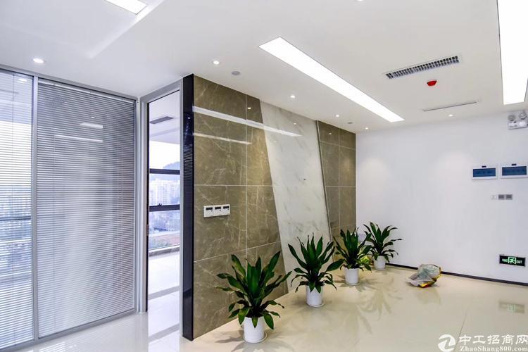 出租龙岗中心城420平精装修带家具办公室