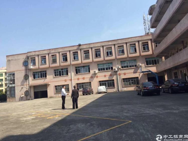 大岭山镇标准厂房分租1楼3000平方