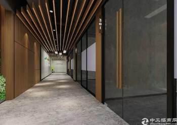 西乡碧海湾双地铁口百佳润写字楼55-350平米出租图片3