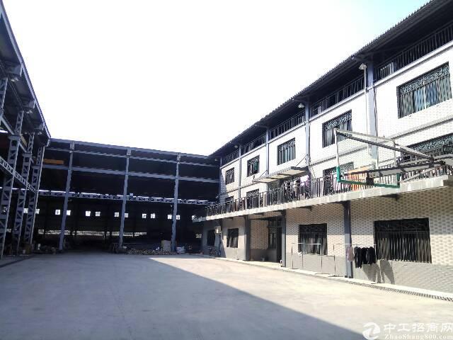 独院单一层钢结构8000平米,配套宿舍办公楼