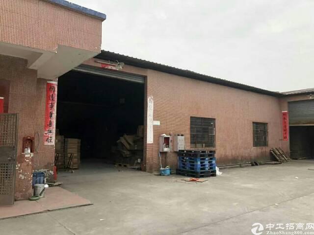 东莞 万江环城路旁单一层厂房出租