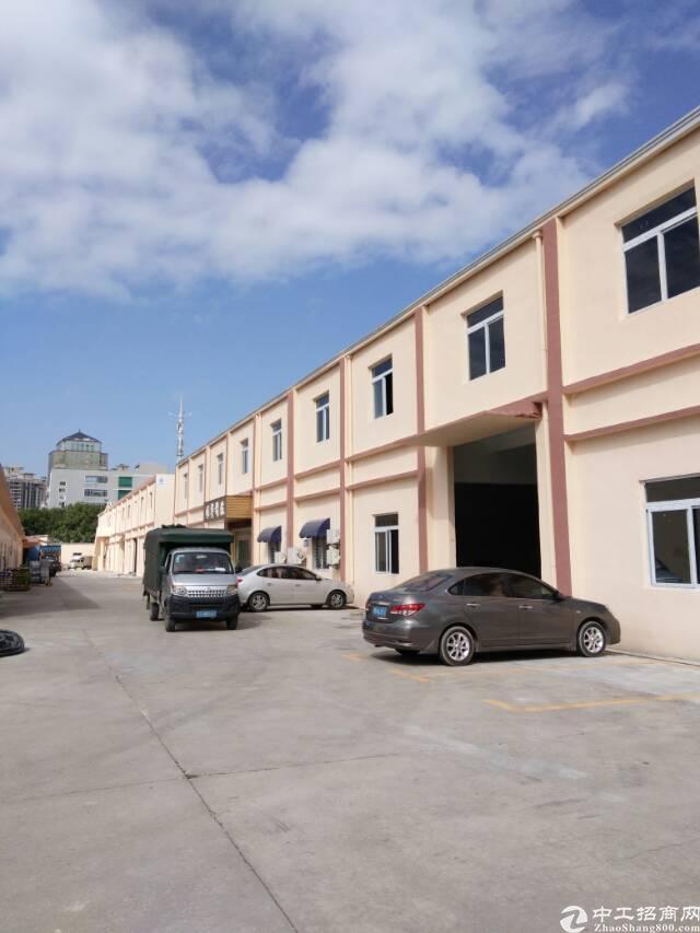 长安上沙一楼标准厂房1600平招租