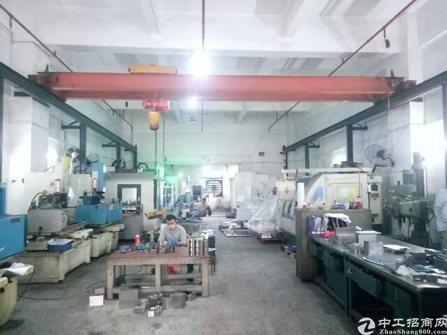 长安乌沙标准厂房一楼带3吨航车580平方