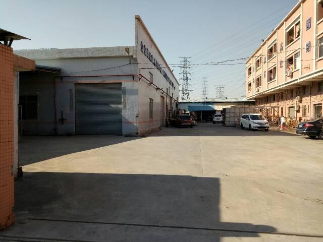 单一层厂房3000平方空地超大