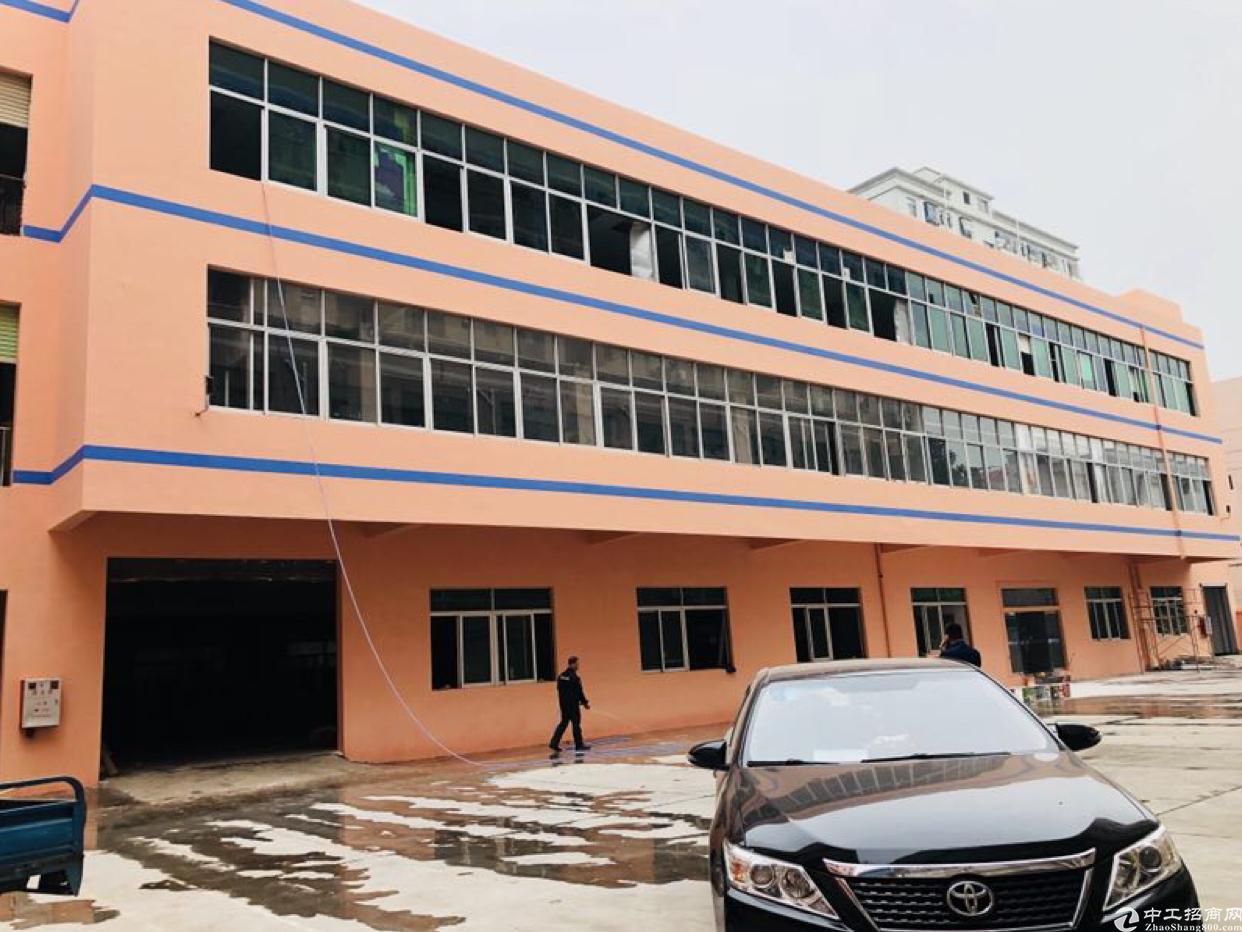 长安增田广深高速新出旁一楼1700平标准厂房