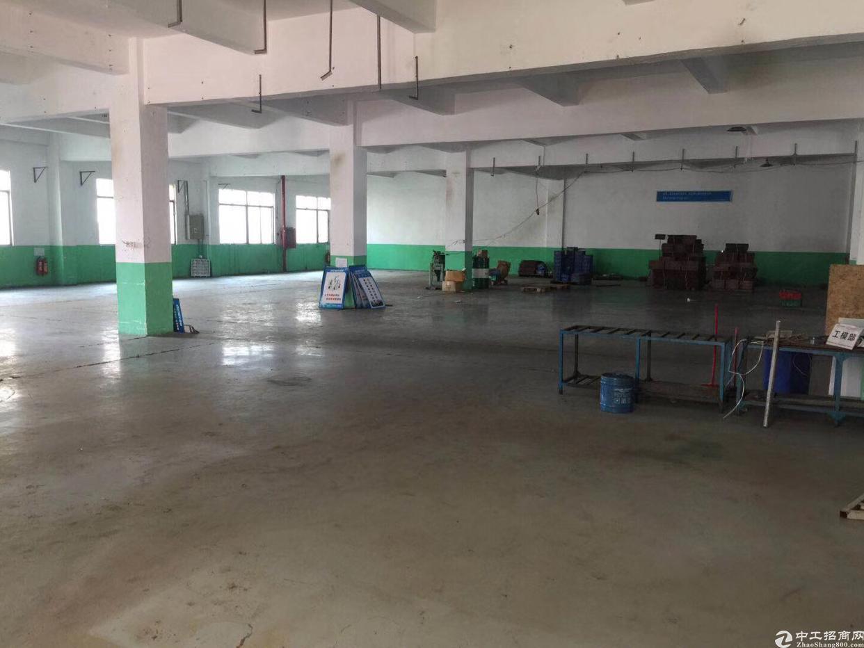 观澜环观中路楼上1200平带装修厂房招租
