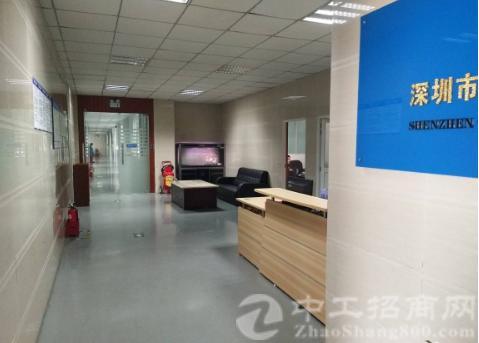 沙井西环电子城附近新出楼上1400平带装修厂房出租