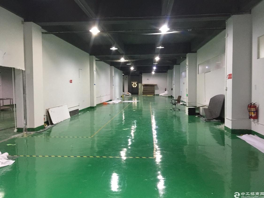 龙华高端成熟工业园区,新出楼上精装修1800平米