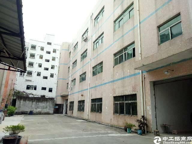 坪山新区坑梓街道办标准独院厂房低价出租6800平米