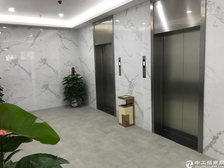 坂田杨美地铁口600平带装修低价厂房出租