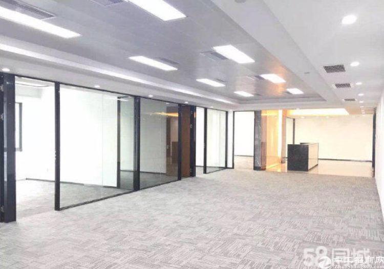 宝安松岗中心甲级写字楼432平方米精致装修水电齐全拎包入住