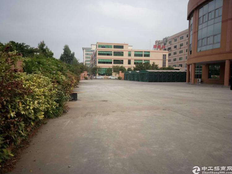 东莞市靠近深圳原房东独院厂房7500平米出租