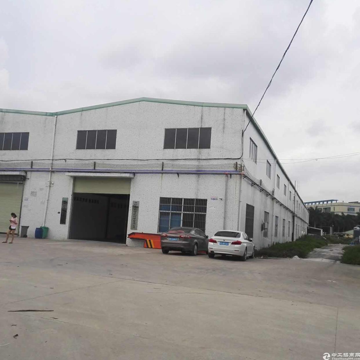 东莞清溪镇高速口独院钢构厂房诚意出售