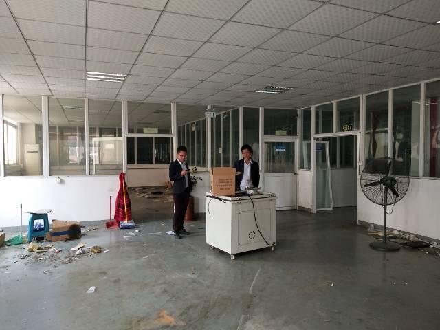 沙井南环路靠松福大道边新出装修厂房出租1200平