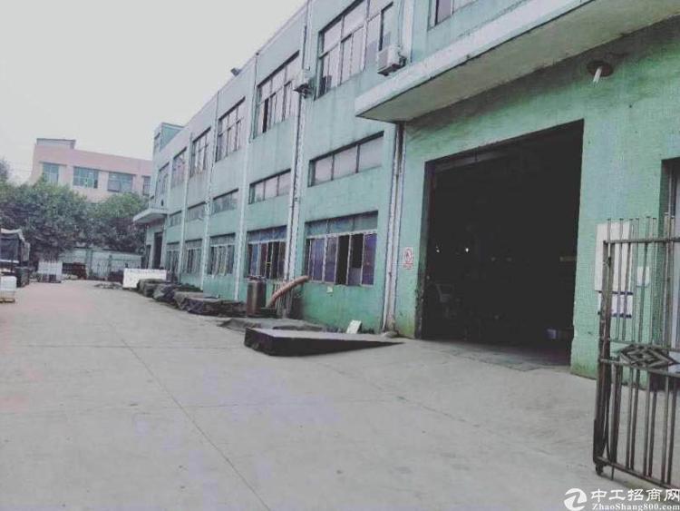 龙华大浪工业区原房东独门独院实际面积4500平米6米高招租