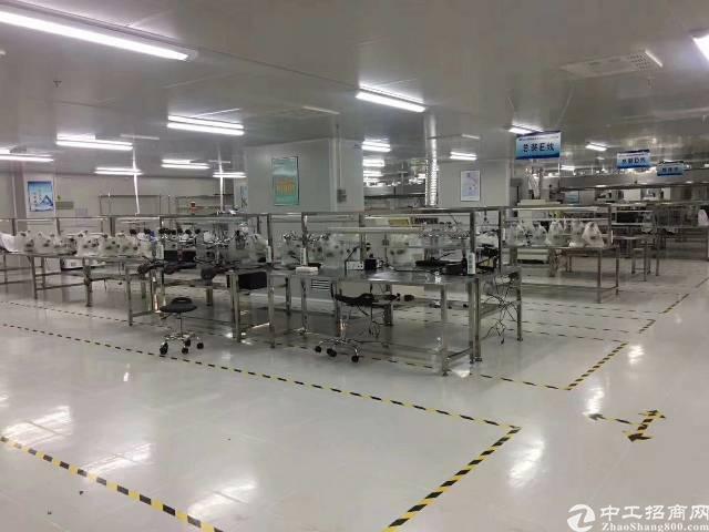 观澜福民龙观快线旁新出楼上一整层1100平厂房招租-图4