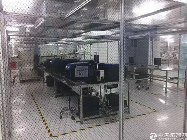 观澜福民龙观快线旁新出楼上一整层1100平厂房招租-图2