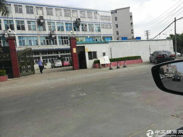 厚街镇三屯村靠西环路原房东分租高度9米一楼厂房1200平方