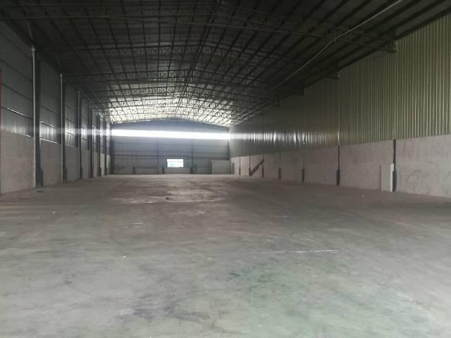 长条形独栋单一层厂房2100平方,有办公室