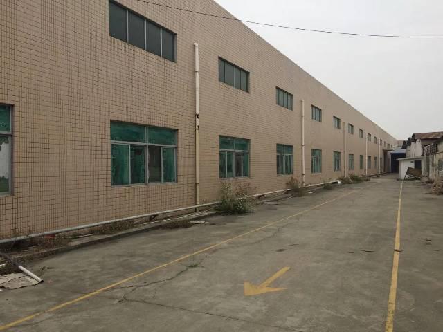塘厦新出6000平独院钢构厂房,滴水9米带牛角,厂房三月份空