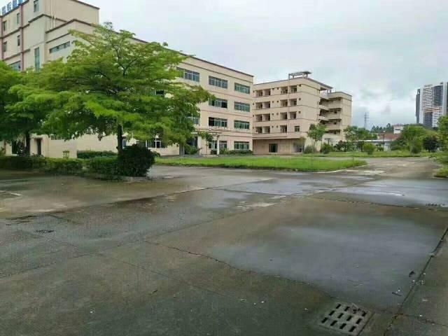 原房东实际面积碧岭工业区4600平米独院厂房出租