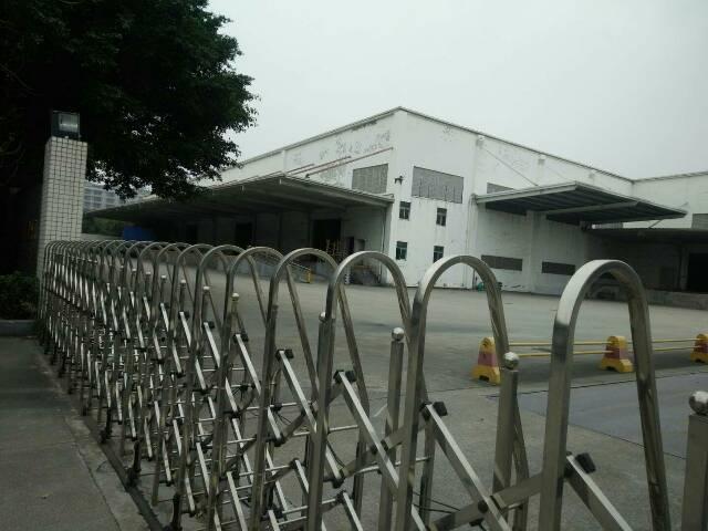 福永沿江高速口30000平带卸货平台物流仓库厂房招租