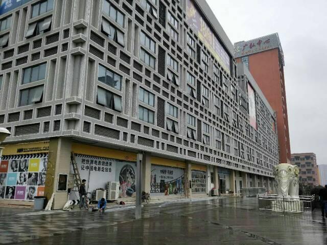 华南城旁大型写字楼招租!可分租