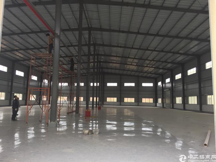 企石出租独院单一层钢构厂房