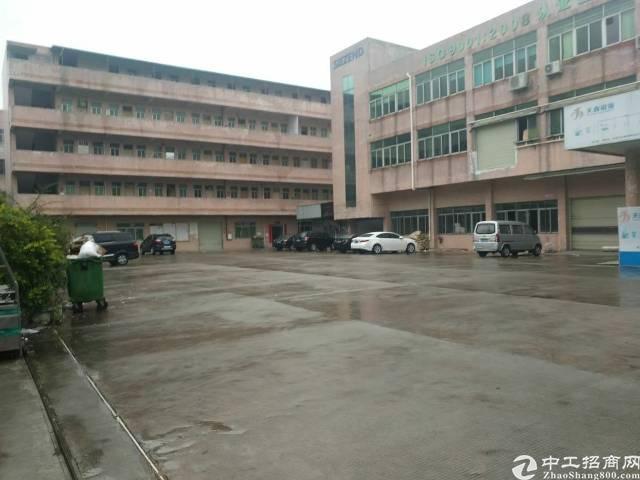 虎门靠长安新空出一栋独院厂房,配有办公楼