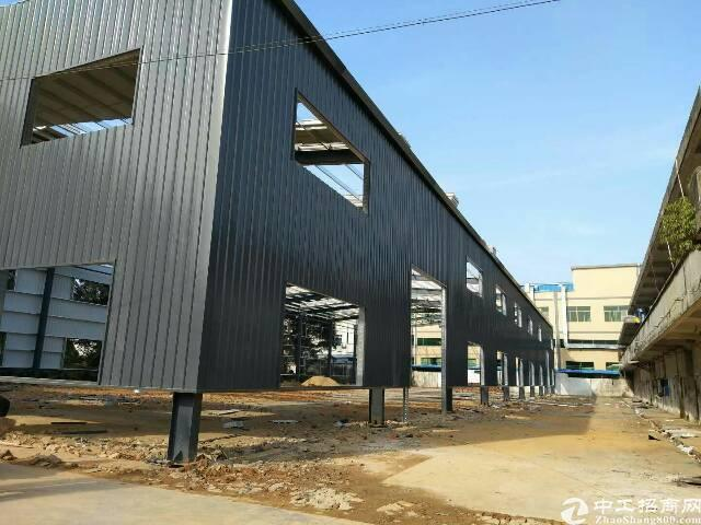 东莞市横沥镇新出独门独院钢构厂房3000平方