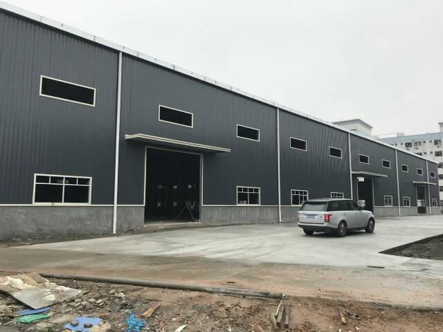 坪山大工业区钢构厂房3200平,滴水9米高