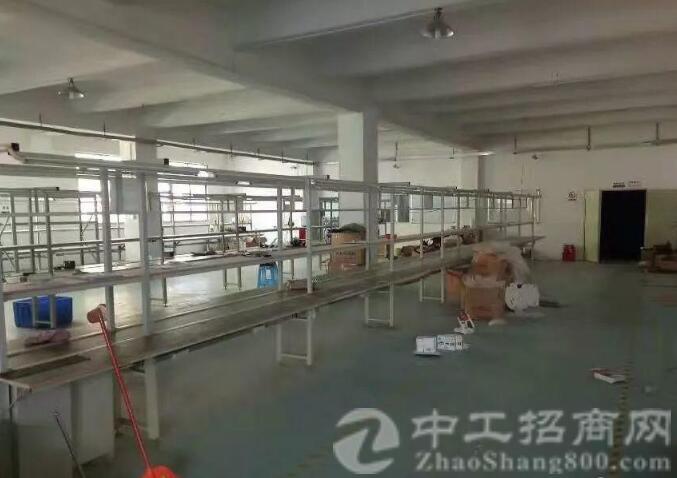 沙井和一大型工业园内新出楼上1050平米带装修出租