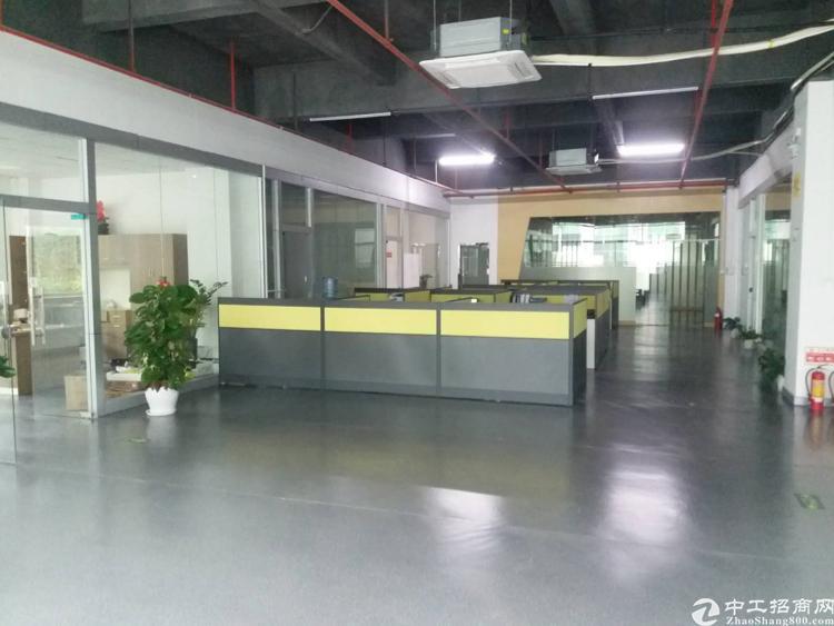 龙华清湖梅观高速出口 大型工业园 豪华装修厂房 2000平
