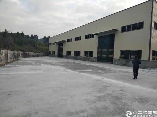 樟木头厂房出租2600平方原房东独栋钢结构滴水9米高
