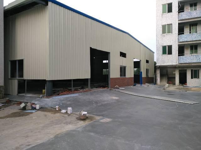 高埗镇工业区分租全新单一层钢构房1350平带隔热层