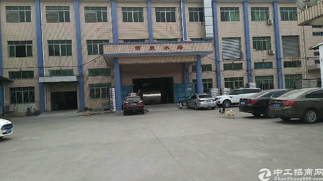 虎门沿江高速出口旁独院一楼分租1700平带现成办公室水电齐全