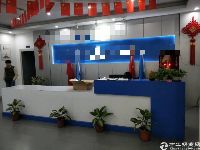 福永凤凰国道边新出楼上1800平米带装修厂房